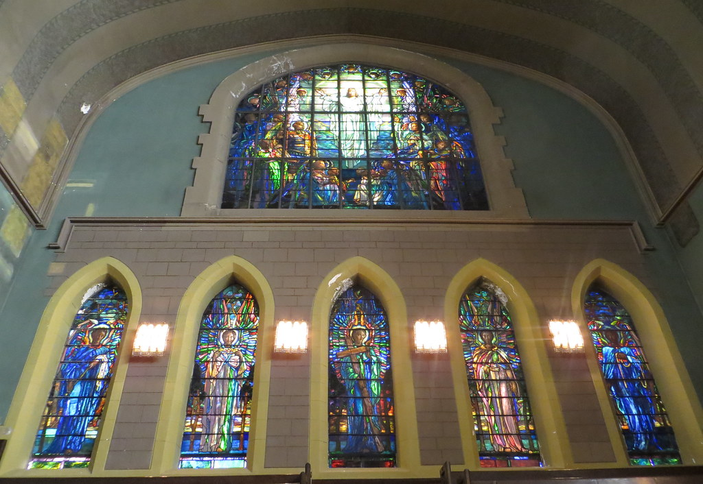Second Presbyterian Church Back Interior